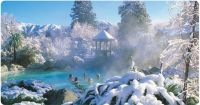 Hanmer Springs in Snow
